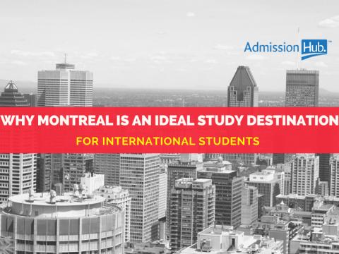 Montreal as a study destination