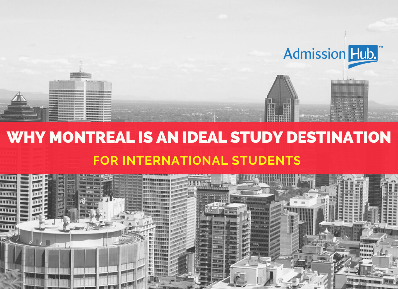 Montreal as a study destination