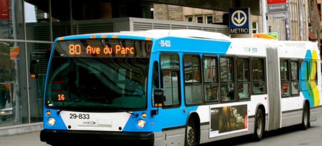 Transporation in Montreal