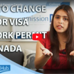 change visitor visa to work permit in Canada