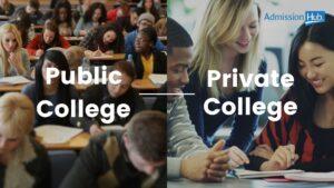 Public College vs Private College