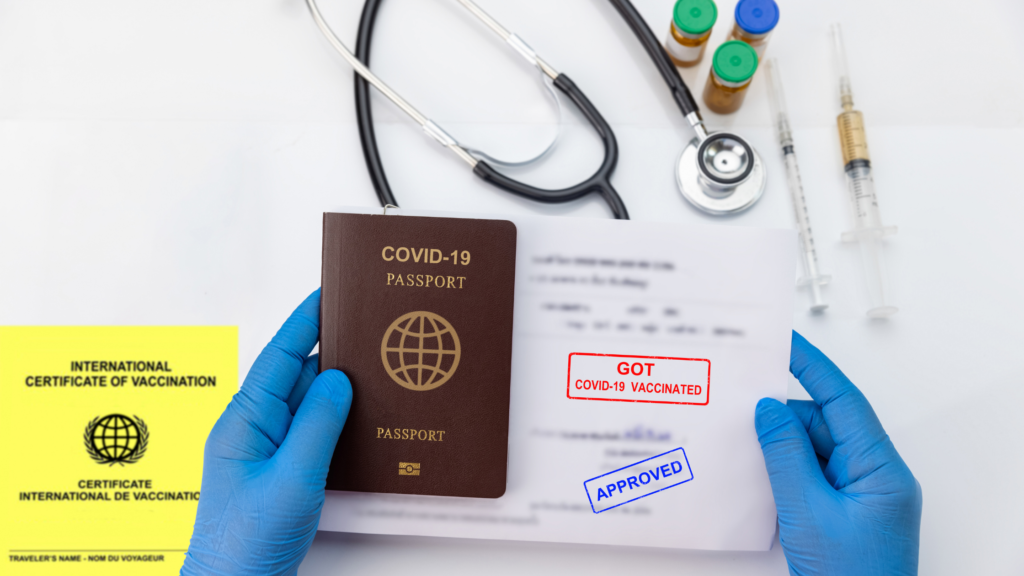 Vaccinated certification for traveler to enter Canada