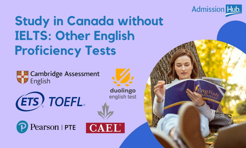Study in Canada without IELTS: Other English tests