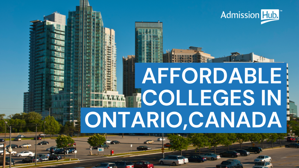 Affordable colleges Ontario, International students Canada