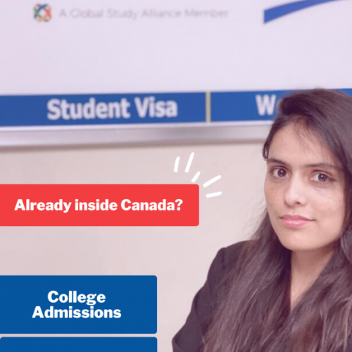 Visitor visa to study permit inside Canada
